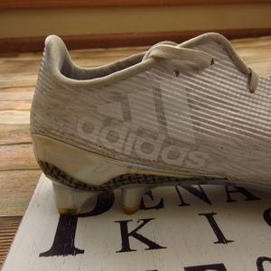 Adidas adizero White Iridescent Cleats Men's 10